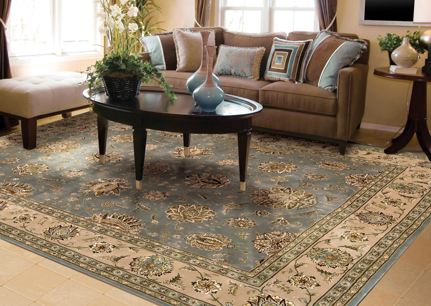 How to decorate with area rugs by david oriental rugs houston - Decorating with area rugs ...