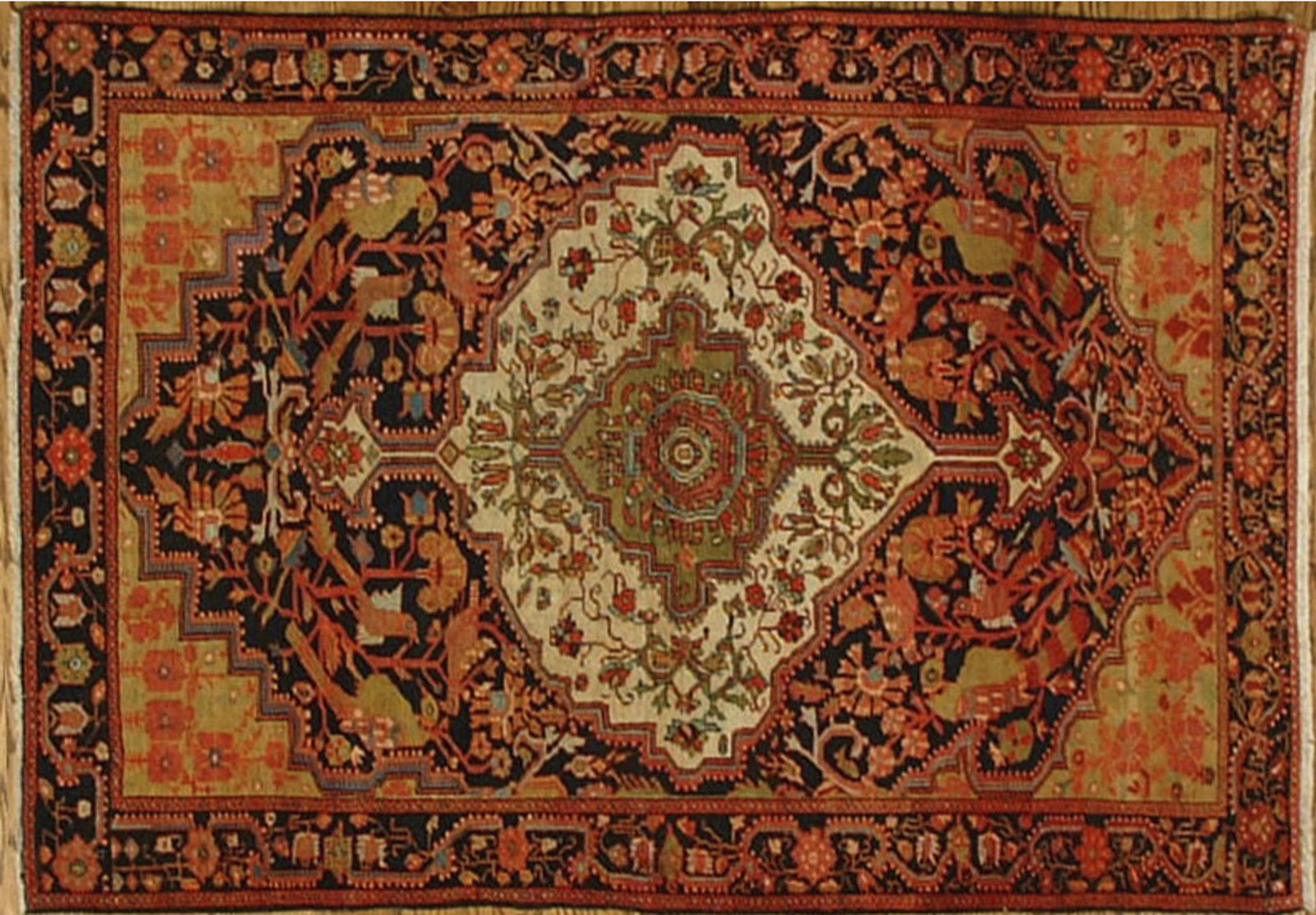 Easy Ways Decorate Persian Rugs on Persian Carpet Interior Design