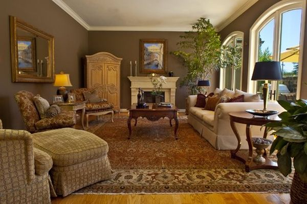 Unique ideas for decorating with area rugs - Living room area rugs ...