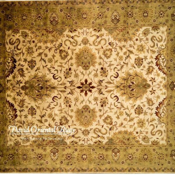 Oriental Rugs Houston: 8×10 Indo Agra Rug 84N1-4090
