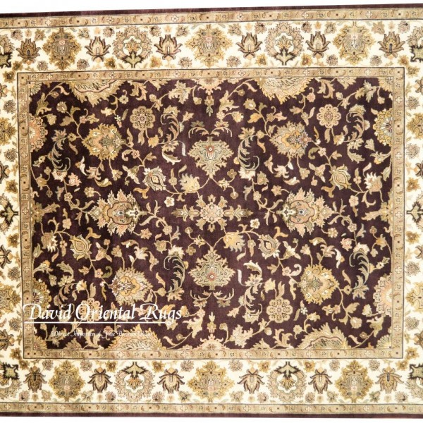 Oriental Rugs Houston: 8×10 Sarouk Rug 84N1-8374