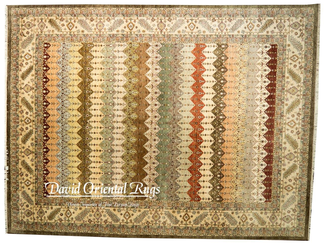This One Of A Kind Leaf Design Oversize Hand Knotted 12 1 X 15 3 Wool Silk Gray Area Rug Is Second To None When It Comes Quality Fibers Are