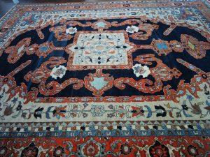 14.1 x 18.1 Persian Serapi L8-1261